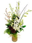 Winterful Orchid Bud Vase