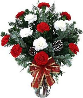 Holiday Carnation Bouquet*